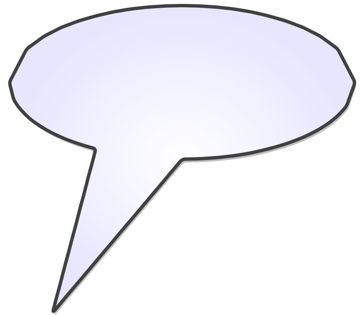 Voice Bubble Example 1
