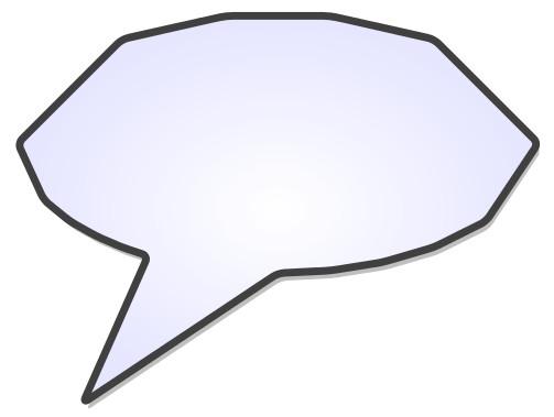 Voice Bubble Example 3